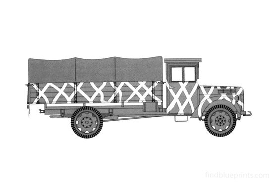 Ford V3000 Einheits Truck