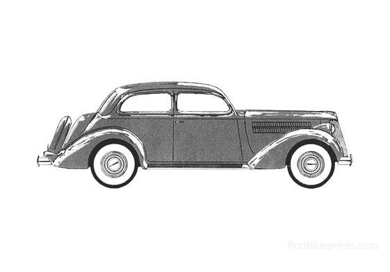 Ford V8 Sedan 1936