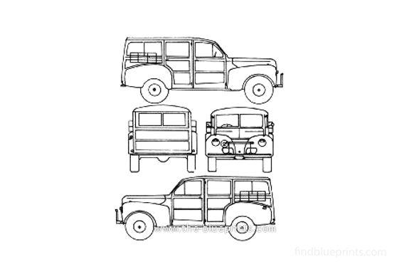 Ford V8 Station Wagon 1941