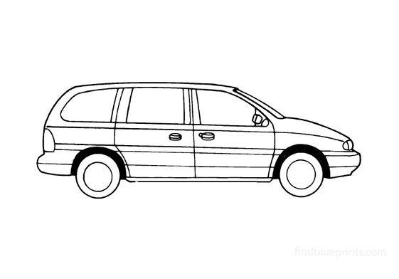 Ford Windstar Minivan 1987