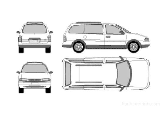 Ford Windstar Minivan 1995
