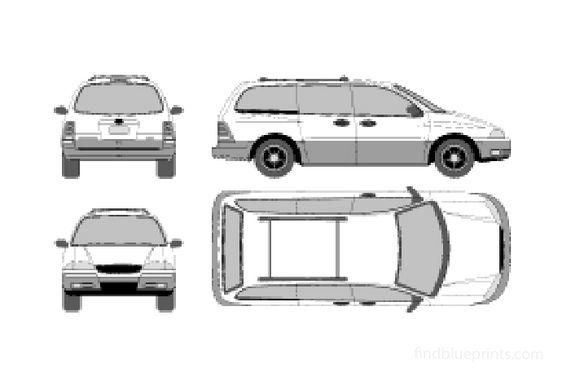 Ford Windstar Minivan 2000