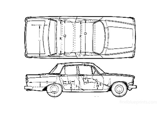 Ford Zephyr Sedan 1963