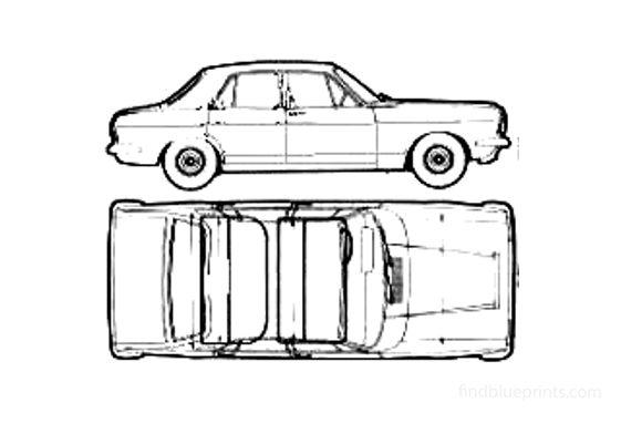 Ford Zephyr Sedan 1969