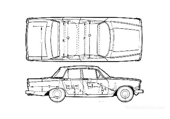 Ford Zephyr Mk III Sedan 1964