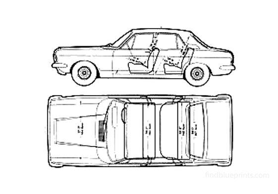 Ford Zephyr Mk IV Sedan 1967