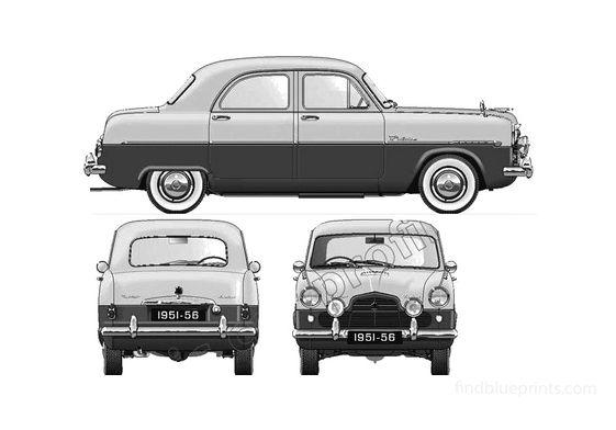 Ford Zodiac Sedan 1951