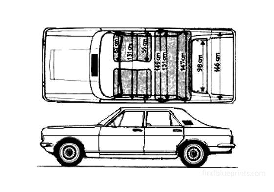Ford Zodiac Sedan 1966