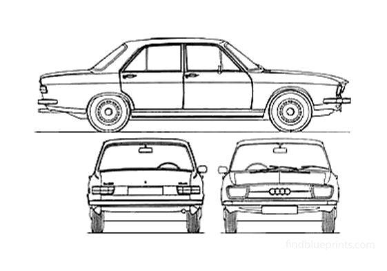 Audi 100 C1 LS Sedan 1970