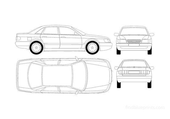 Audi 100 C4 Sedan 1991