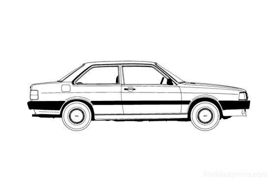 Audi 80 B2 2-door Coupe 1985