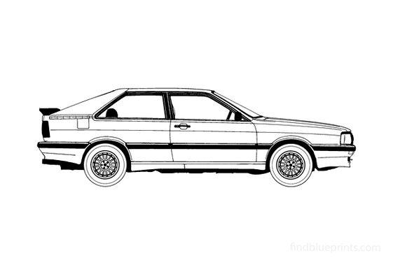 Audi 80 B2 GT Coupe 1984