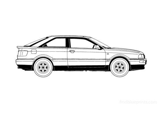 Audi 80 B3 Coupe 1989