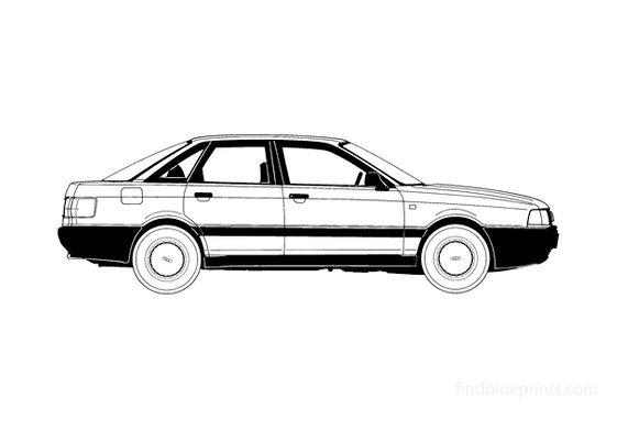 Audi 80 B3 Sedan 1987