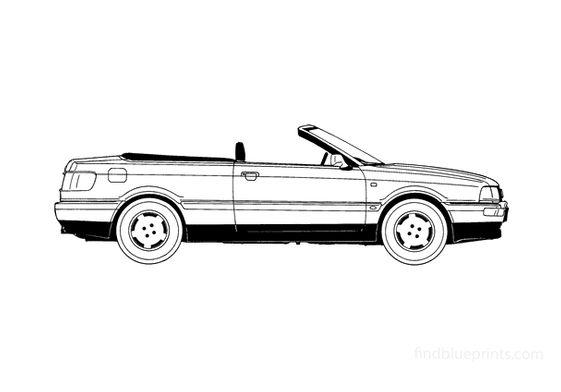 Audi 80 B4 Cabriolet 1991