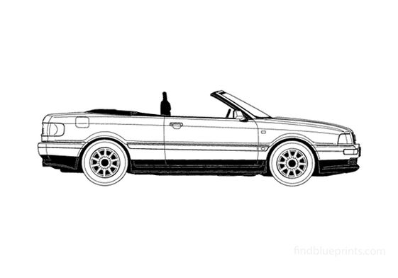 Audi 80 B4 Cabriolet 1994