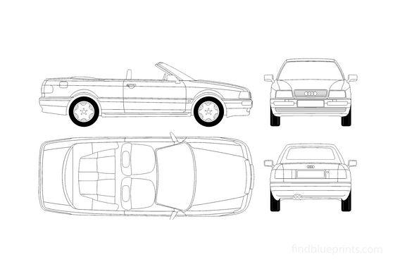 Audi 80 B4 Cabriolet 1995