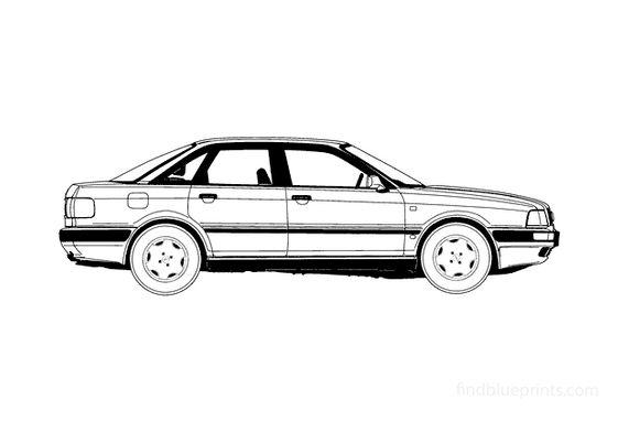 Audi 80 B4 Sedan 1992