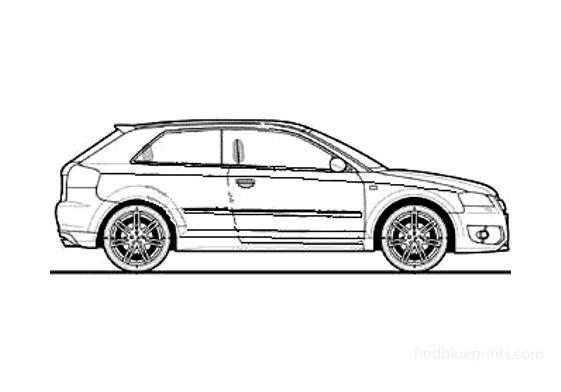 Audi A3 (Typ 8P) Hatchback 2007