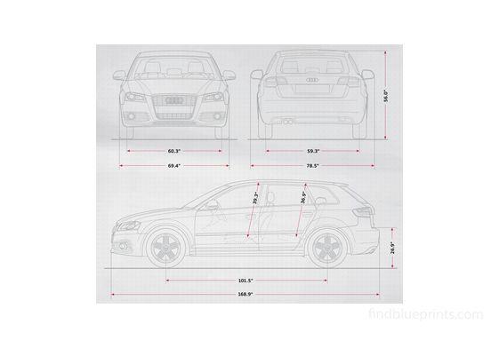 Audi A3 (Typ 8P) 5-door Hatchback 2009