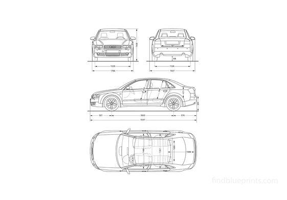 Audi A4 (Typ 8E) Sedan 2001