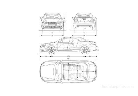 Audi A4 (Typ 8E) Sedan 2006