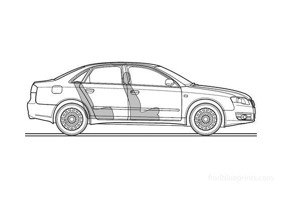 Audi A4 (Typ 8E) 2.0 TDI Sedan 2006