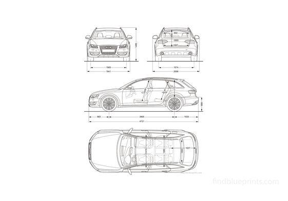 Audi A4 Allroad Quattro Wagon 2010