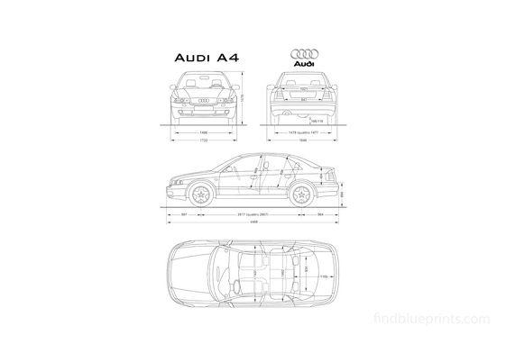 Audi A4 B5 (Typ 8D) Sedan 1994