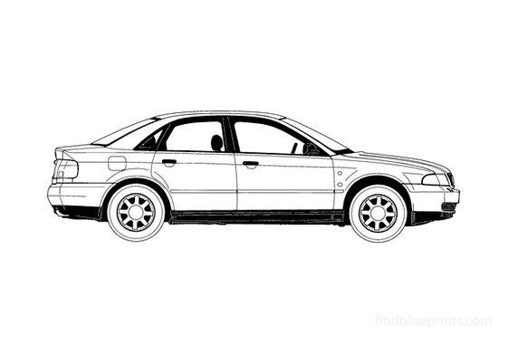 Audi A4 B5 (Typ 8D) Sedan 1995
