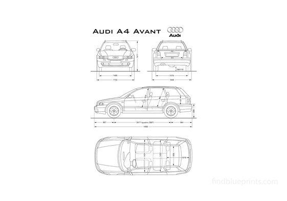 Audi A4 B5 (Typ 8D) Avant Wagon 1994