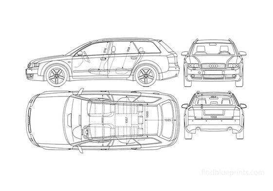 Audi A4 B6 (Typ 8E) Avant Wagon 2004