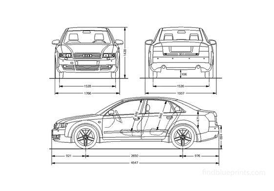 Audi A4 B6 (Typ 8E) Limousine Sedan 2002