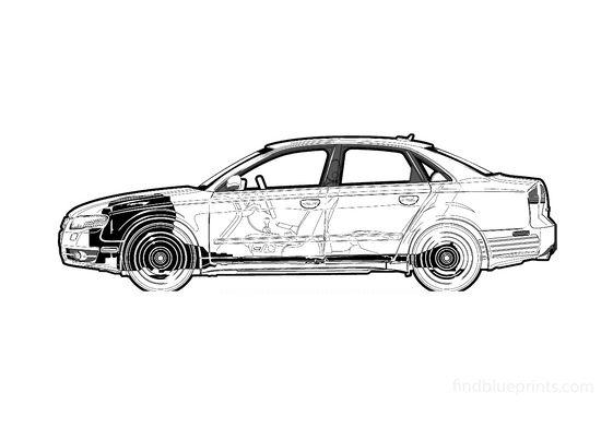 Audi A4 B7 (Typ 8E) Sedan 2005