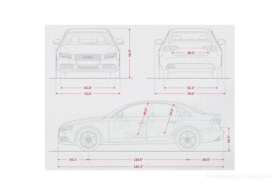 Audi A4 B8 (Typ 8K) Sedan 2009
