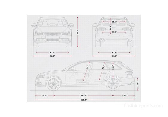 Audi A4 B8 (Typ 8K) Avant Wagon 2009
