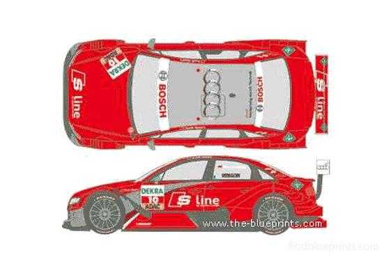 Audi A4 DTM Sedan 2010