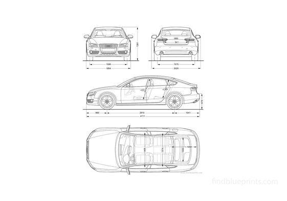 Audi A5 Sportback Hatchback 2010