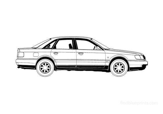 Audi A6 C4 Sedan 1995