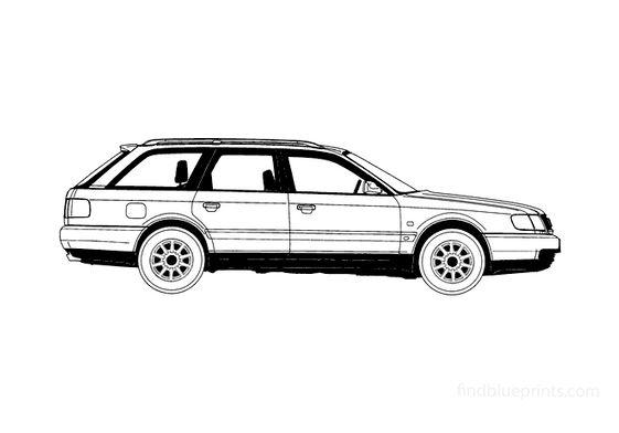 Audi A6 C4 Avant Wagon 1995