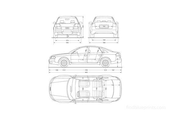 Audi A6 C5 Sedan 1996