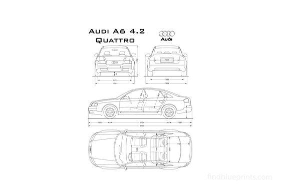 Audi A6 C5 Quattro Sedan 1996