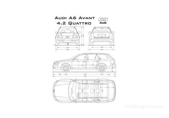 Audi A6 C5 Quattro Avant Wagon 1996