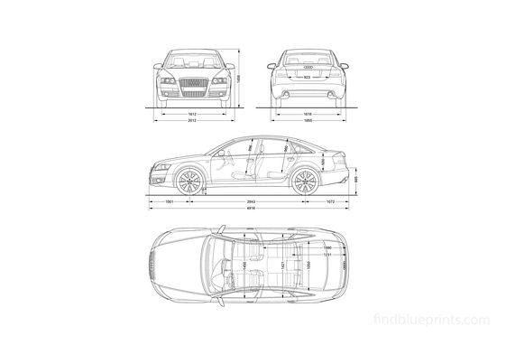 Audi A6 C6 Sedan 2008