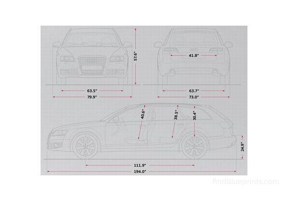 Audi A6 C6 (Typ 4F) Avant Wagon 2009
