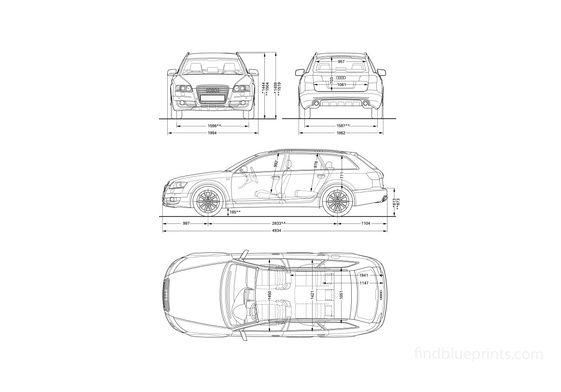 Audi A6 C6 Avant Wagon 2006