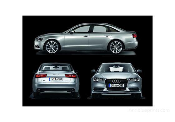 Audi A6 Hybrid Sedan 2011
