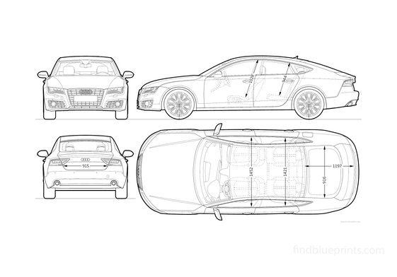 Audi A7 Sportback Hatchback 2010