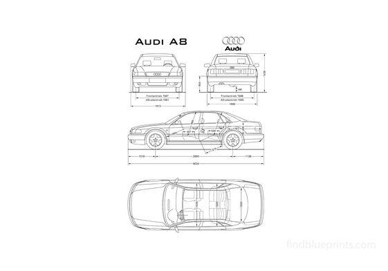 Audi A8 D2 (Typ 4D) Sedan 1994