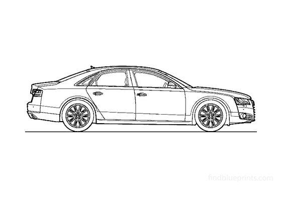 Audi A8 Sedan 2010